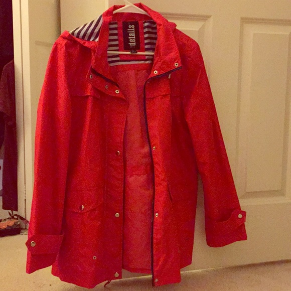 2020 discount coupon variety styles of 2019 Women's Red Raincoat